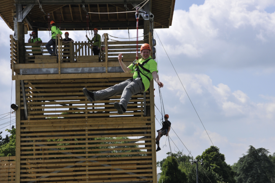 Zip wire photo